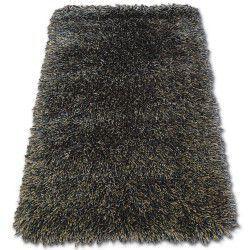 Carpet LOVE SHAGGY design 93600 black/brown