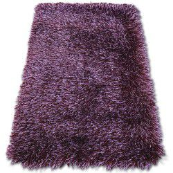 Carpet LOVE SHAGGY design 93600 purple