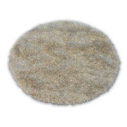 Carpet LOVE SHAGGY circle design 93600 beige