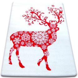 Carpet XMAS - F788 cream/red