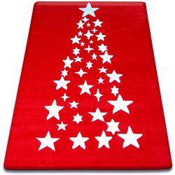 Carpet XMAS - F789 red/cream