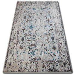 Carpet ACRYLIC TALAS 0309 White/Glass Blue