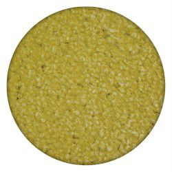 Carpet round ETON yellow