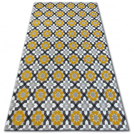 Carpet LISBOA 27206/275 Flowers Yellow