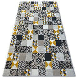 Carpet LISBOA 27218/255 Squares Plate Yellow Portugal