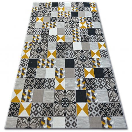 Carpet LISBOA 27218/255 Squares Plate Yellow Portugal