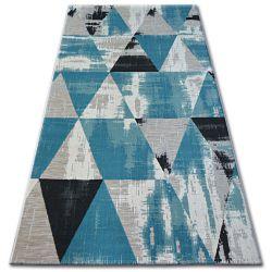 Carpet LISBOA 27216/754 Triangles Turquoise