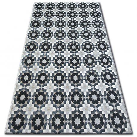 Carpet LISBOA 27206/356 Flowers Grey