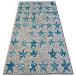 Carpet LISBOA 27219/754 Stars Turquoise