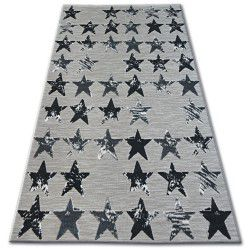 Carpet LISBOA 27219/956 Stars Black