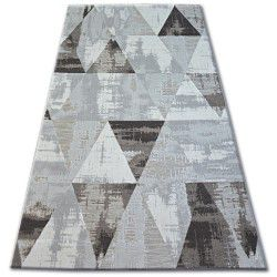 Carpet LISBOA 27216/655 Triangles Brown