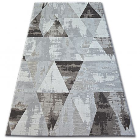 Carpet LISBOA 27216/655 Triangles Brown