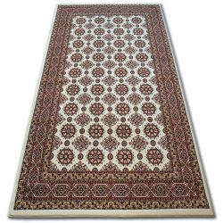 Carpet KIRMAN 0004IE beige / claret
