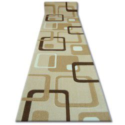 Runner HEAT-SET FRYZ FOCUS - F240 garlic SQUARES beige gold