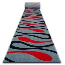 Runner HEAT-SET FRYZ FOCUS - 001 grey / red / black TRAIL ART