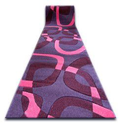 Runner HEAT-SET FRYZ FOCUS - F242 violet SQUARE purple