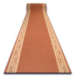Runner SIZAL design 852/12 terracotta