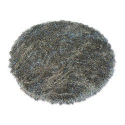 Carpet LOVE SHAGGY circle design 93600 taupe