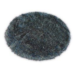 Carpet LOVE SHAGGY circle design 93600 black