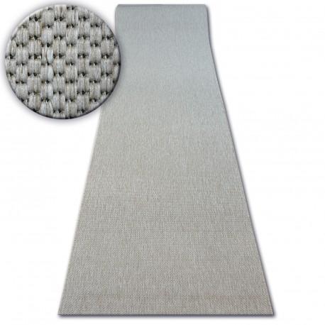 Runner SISAL FLOORLUX design 20433 silver PLAIN