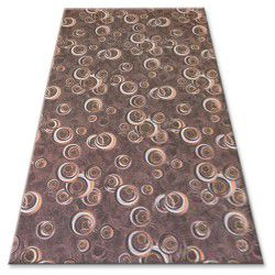 Fitted carpet DROPS 043 brown