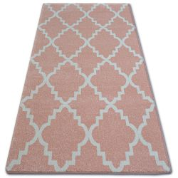 Carpet SKETCH - F343 pink/cream trellis