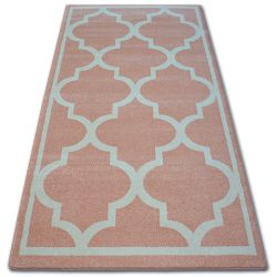 Carpet SKETCH - F730 pink/cream trellis