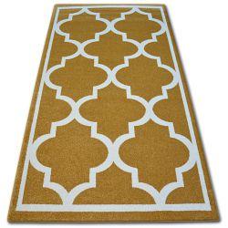 Carpet SKETCH - F730 gold/cream trellis
