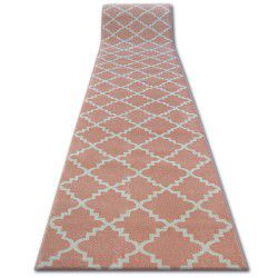 Runner SKETCH - F343 pink/cream trellis