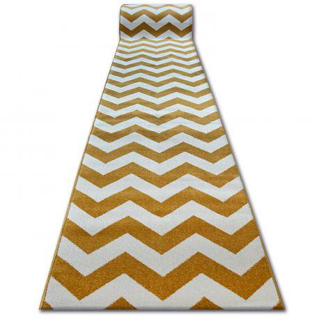 Runner SKETCH - FA66 gold/cream - Zigzag
