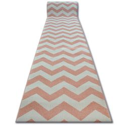 Runner SKETCH - FA66 pink/cream - Zigzag