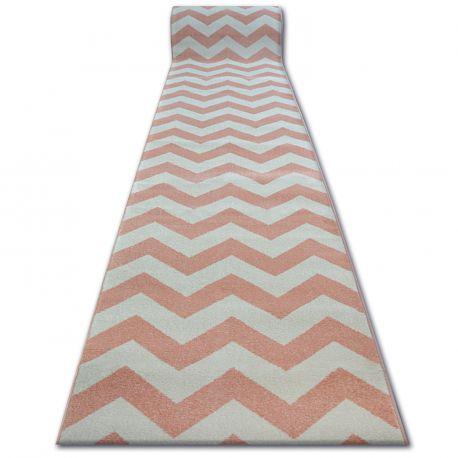 Runner SKETCH - FA66 pink/cream - Zigzag