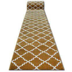 Runner SKETCH - F343 gold/cream trellis