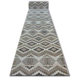 Runner ARGENT - W4809 Diamonds Beige