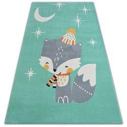 Carpet PASTEL 18401/043 - BIRD green
