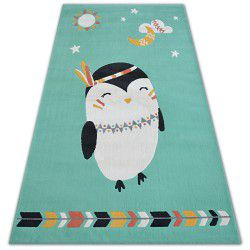 Carpet PASTEL 18401/043 - PENGUIN green