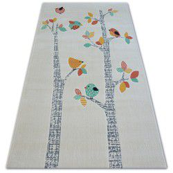 Carpet PASTEL 18405/063 - BIRDS cream