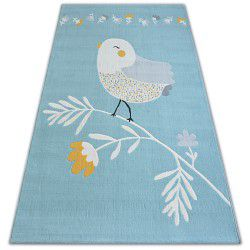 Carpet PASTEL 18404/032 - BIRD blue