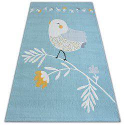 Carpet PASTEL 18404/032 - BIRD blue