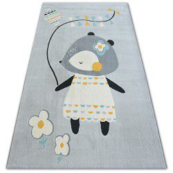 Carpet PASTEL 18403/052 - MOUSE grey