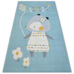 Carpet PASTEL 18403/032 - MOUSE blue