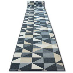 Runner anti-slip SKY grey TRIANGLES