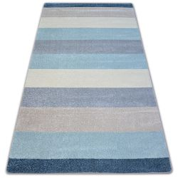 Carpet NORDIC STRIPES cream/bllue G4577