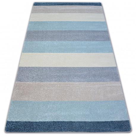 Carpet NORDIC STRIPES cream/bllue G4577