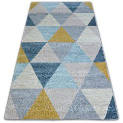 Carpet NORDIC TRIANGLES grey/cream G4580