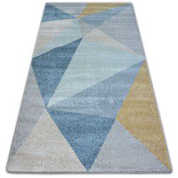 Carpet NORDIC SOLID cream/blue G4576