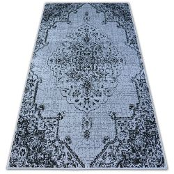 Carpet BCF BASE VINTEGE 3971 ROSETTE grey/black