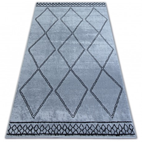 Carpet BCF BASE ETNO 3964 DIAMONDS grey/black