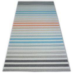 Carpet COLOR 19017/860 SISAL Belts Grey Turquise Pink