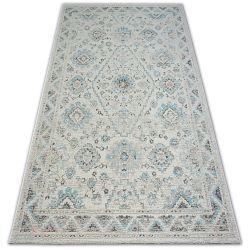 Carpet COLOR 19521/876 SISAL Tradition Classic Cream Turquise